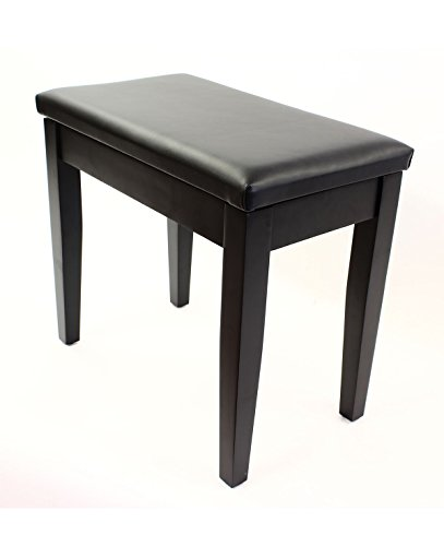 Buy Coda Cushioned Seat Piano Stool With Storage