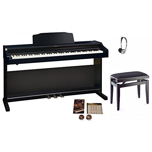 buy roland rp401r digital piano contemporary black. Black Bedroom Furniture Sets. Home Design Ideas
