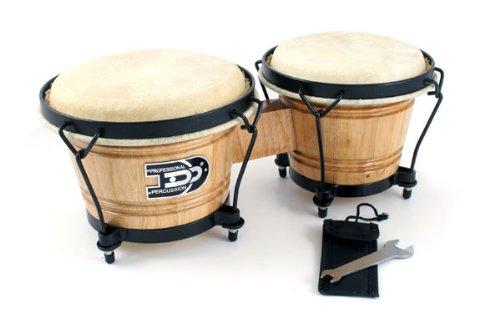 Buy Oak Bongo Drums Hand Percussion Drum Set