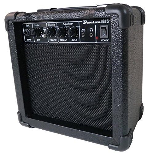 buy benson 15 watt electric guitar amplifier practice amp with overdrive function. Black Bedroom Furniture Sets. Home Design Ideas