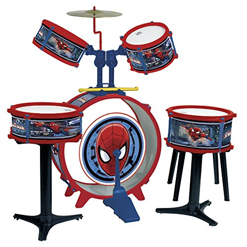 Buy Reig Spiderman Drum Kit 5 Piece