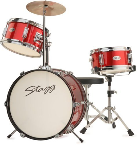 Buy Stagg Junior Drum Kit 3 Piece 16 Quot Red