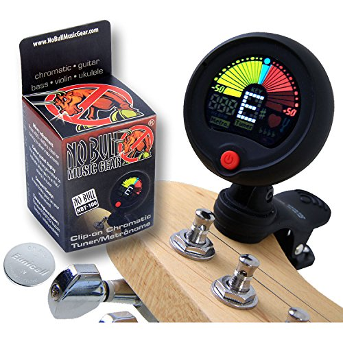 buy premium clip on guitar tuner metronome improve your sound and playing confidence with a. Black Bedroom Furniture Sets. Home Design Ideas