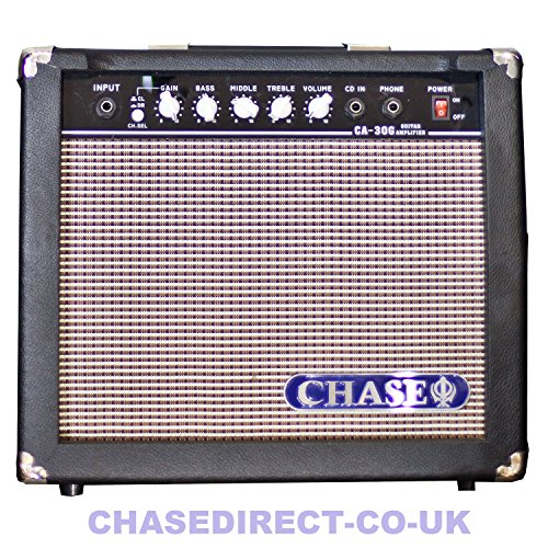 buy chase ca 30g 30 watt electric guitar amplifier practice amp. Black Bedroom Furniture Sets. Home Design Ideas
