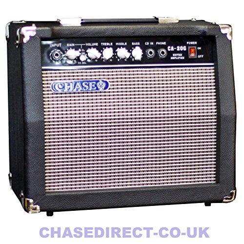 buy chase ca 20g 20 watt electric guitar amplifier practice amp. Black Bedroom Furniture Sets. Home Design Ideas