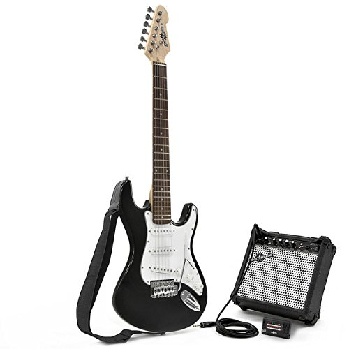 buy 3 4 la electric guitar amp pack black. Black Bedroom Furniture Sets. Home Design Ideas
