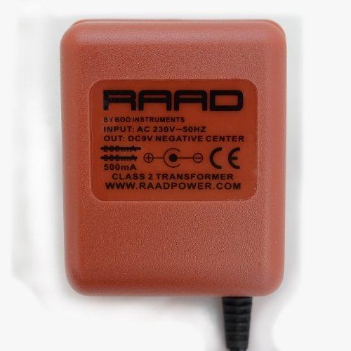 buy raad regulated dc 9v ac dc power supply adaptor tip negative center class 2 transformer. Black Bedroom Furniture Sets. Home Design Ideas