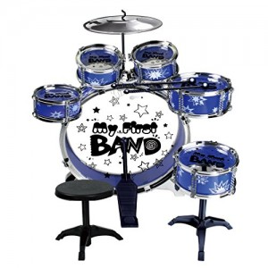 Buy Foxhunter Kids Child Junior Starter Drum Playset Kit